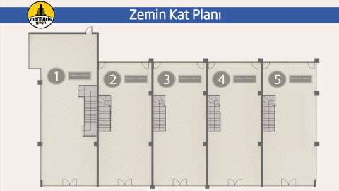 Marmaris Business Center, Zemin Kat Planı